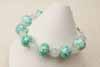 Lampwork Bracelet - Mint Fairy