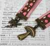 Ribbon Bookmark - Fairy and Mushroom