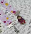 Ribbon Bookmark - Russian Doll